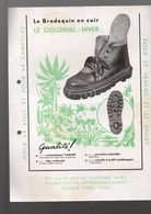 Mauléon-Soule (64 Pyrénées Atlantiques) Chaussures LE COLONIAL  (2 Docs)  (CAT 0992) - Advertising