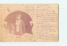 MONTLUEL - Carte Envoyée Chez Mr Chambon Officier En Retraite  - 2 Scans - Montluel