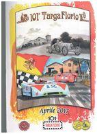 X 101TARGA FLORIO FOLDER FILATELICO FDC ED.LIM. TRIBUTE BUGATTI PORSCHE 1927 1970 RRR - Automobilismo