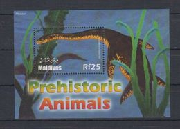 V61. MNH Maldives Nature Animals Prehistoric Animals - Prehistorics