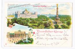 GRUSS // LEIPZIG-PLAGWITZ//ANNEE//19-11-1898 - Leipzig