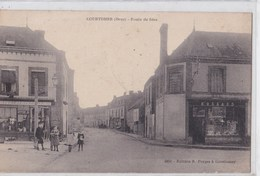Carte 1915 COURTOMER / ROUTE DE SEES - Frankreich