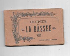 10508 - Carnet LA BASSEE : Ruines, - Autres Communes