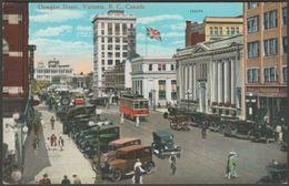 Douglas Street, Victoria, British Columbia, Canada, C.1920s - Coast Publishing Co Postcard - Victoria
