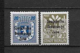 LOTE 1633 /// ALEMANIA DDR   YVERT Nº: 29/30 **MNH - [6] República Democrática