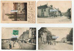 LOT DE 99 CP EN MAJORITE ANCIENNES DECLASSEES - Plis Et Autres Défauts Plus Ou Moins Importants - Cartes Postales