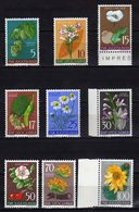 Yugoslavia 1955 Flowers - Flora, MNH (**) Michel 765-773 - 1945-1992 Socialistische Federale Republiek Joegoslavië
