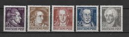 LOTE 1634 /// ALEMANIA DDR   YVERT Nº: 52/56 **MNH - [6] República Democrática