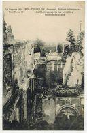 TILLOLOY SOMME MILITARIA GUERRE 14/18  : Ruines Intérieures Du Château Après Les Terribles Bombardements Allemands - Guerre 1914-18