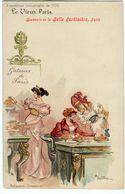 CPA 75 Vieux Paris  PUB Belle Jardinière - Patisserie Directoire  ( époque 1900 ) - France