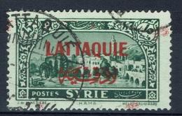 """Lattaquie (Syria), """"Hama"""" 15pi., 1931, VFU Superb Postmark LATTAQUIE - Lattaquié (1931-1933)"""