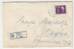 Yugoslavia, Letter Cover Registered Travelled 1945 Sušak Pmk B180210 - Covers & Documents