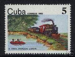 CUBA/KUBA 1982  X ANNIV. DEL PARQUE LENIN MNH - MOLTO RARO - Cuba