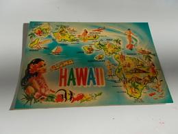 B676  Hawaii Viaggiata - Cartoline