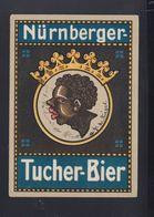 Dt. Reich PK Nürnberger Tucher Bier 1933 - Reclame