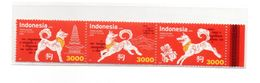 INDONESIA 2018-2 CHINA NEW YEAR OF DOG STAMPS MNH - Indonésie