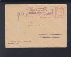 Dt. Reich Brief 1943 Mölkau Nach Köln Zurück Unzustellbar - Briefe U. Dokumente