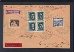 Dt. Reich Expresbrief 1937 Lichtenberg Sonderstempel - Briefe U. Dokumente