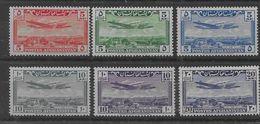 Serie De Afganistán Nº Yvert A-7/12 (*). - Afghanistan