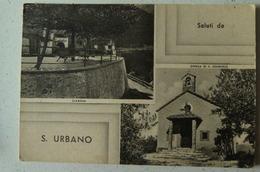 SALUTI DA S.URBANO  FRAZIONE DI NARNI (TERNI)- GIARDINI - CHIESA DI S.ONOFRIO - Terni