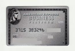 American Express USA Platinum Business AMEX Expired 2005 - Geldkarten (Ablauf Min. 10 Jahre)