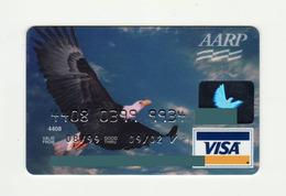First USA Bank USA Eagle VISA Expired 2002 - Geldkarten (Ablauf Min. 10 Jahre)