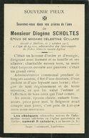 Léglise Méllier Diogène Scholtes époux De Célestine Collard 1851 1915 - Léglise