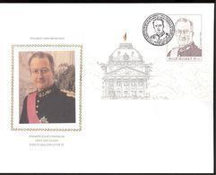 1998  OPB  2740 OP BLOK 75 -   ALBERT II - COTE EURO 10,50 (2015) - FDC
