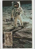 Carte Maximum Inde 1969 Espace - Covers & Documents