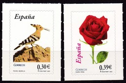 2007,  Spanien, 4197/98, Freimarken: Flora Und Fauna. MNH ** - 1931-Today: 2nd Rep - ... Juan Carlos I