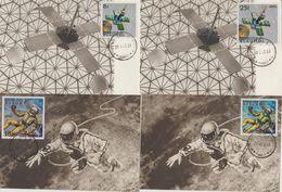 Carte Maximum Burundi 1968 Espace - Burundi
