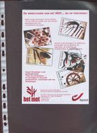 Belgie 4079/83 Beroepen Professions Craft Spinning Shoe Smith Herdenkingskaart - Cartes Souvenir