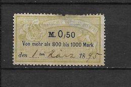 LOTE 1635 /// ALEMANIA  1895 - Sin Clasificación