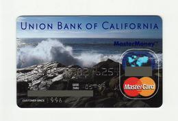Union Bank Of California USA  MASTERCARD  Expired 1999 - Geldkarten (Ablauf Min. 10 Jahre)