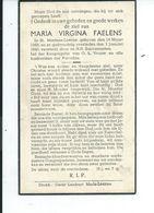 B.P. ST.MARTENS LEERNE FAELENS MARIA 1869 - 1940 - Religion & Esotérisme