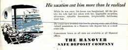 BUVARD   The Hanover Safe Deposit Company - Blotters