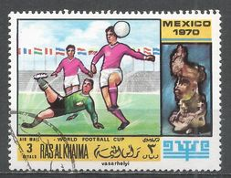 Ras Al Khaima 1970. #B (U) World Cup Championships, Soccer, Mexico City - Ras Al-Khaima