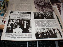 Anastazija Ingrid Bergman Yul Brynner Helen Hayes - Posters