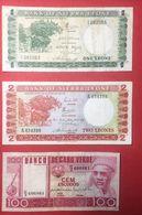 N°19 3 BILLETS SIERRA LEON / CAP VERT - Sierra Leone