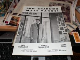 Kino Program Prvi Gradjanin Male Varosi - Posters