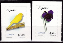 2007,  Spanien, 4211/12, Freimarken: Flora Und Fauna. MNH ** - 1931-Aujourd'hui: II. République - ....Juan Carlos I