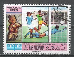 Ras Al Khaima 1970. #C (U) World Soccer Cup Championships, Mexico City - Ras Al-Khaima