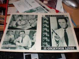 Kino Program Twelve Angry Men - Posters