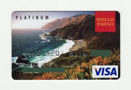 Weels Fargo USA Platinum VISA Expired 2008 - Geldkarten (Ablauf Min. 10 Jahre)