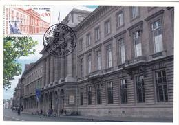 Carte-Maximum FRANCE N° Yvert 3252 (HÔTEL DE LA MONNAIE) Obl Ord Paris-Odéon (Ed Castelet) - 2000-09