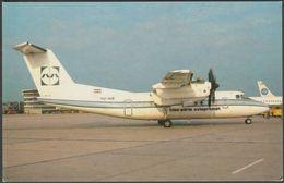 De Havilland Dash 7 At Stuttgart Airport, 1984 - US Publications Postcard - 1946-....: Moderne