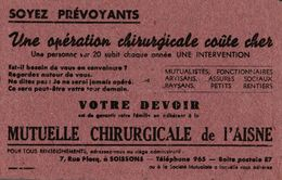 BUVARD  MUTUELLE CHIRURGICALE DE L AISNE - Bank & Insurance