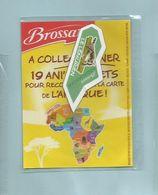 Magnet Collection Brossard Carte Afrique Le Lémurien - Animals & Fauna