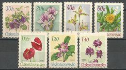 Czechoslovakia,Flora 1967.,MNH - Ungebraucht