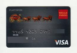 Weels Fargo USA Retro Platinum VISA Expired 2006 - Geldkarten (Ablauf Min. 10 Jahre)